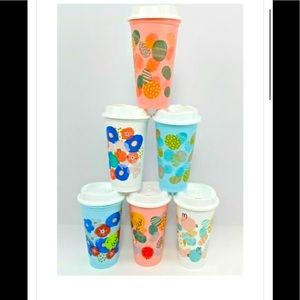 BNIB Starbucks Easter collectible cups. set of 6